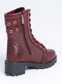 Maroon - Boot - Boys` Boots