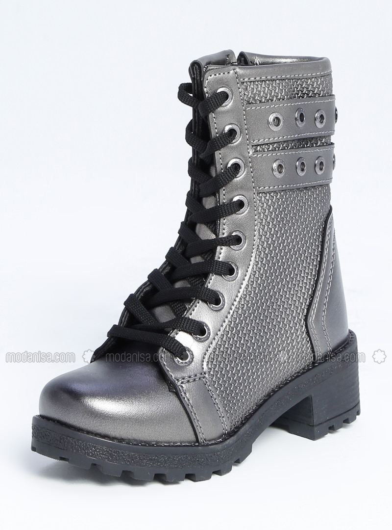 Silver - Boot - Boys` Boots