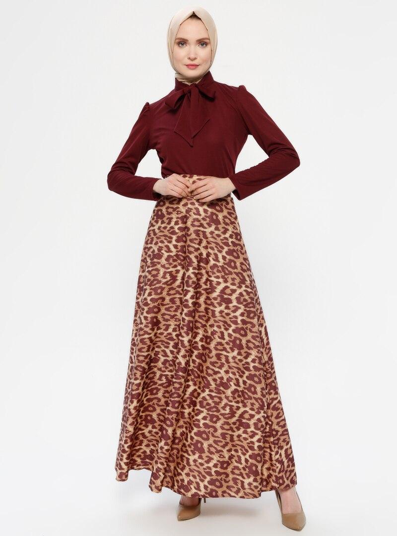 Suit AYŞE MELEK TASARIM Maroon / Brown
