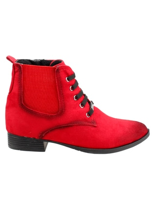 Red - Boots