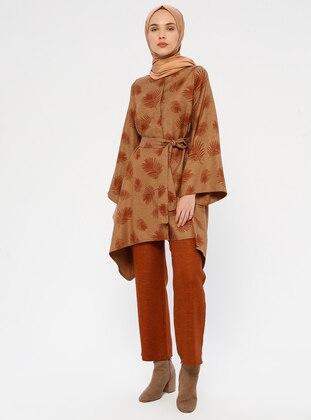 Camel - Multi - Unlined - Suit