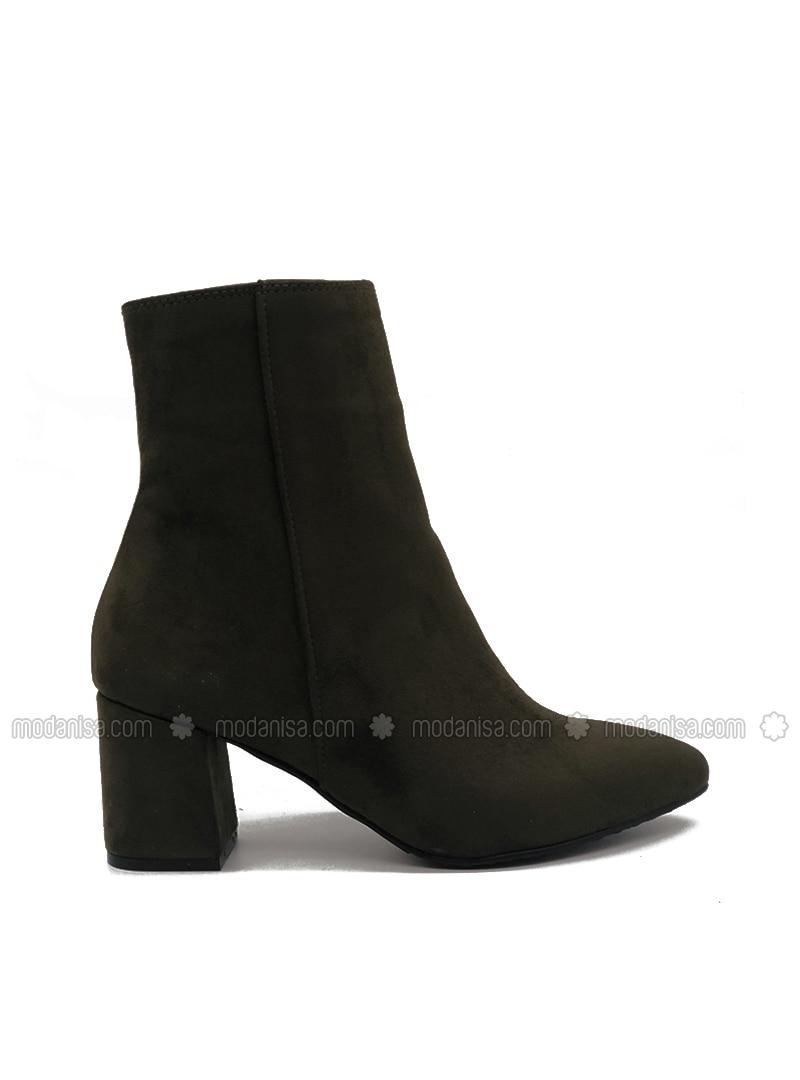 Khaki - Boot - Boots