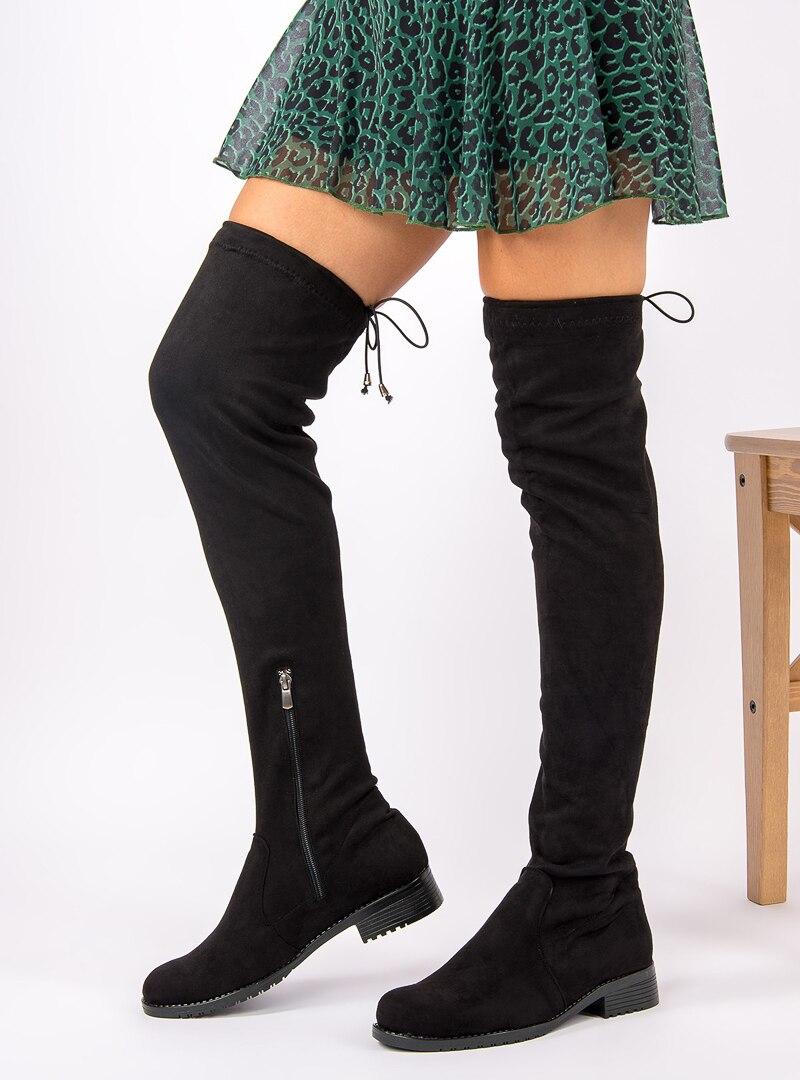 Tesettür Çizme Fox Shoes Siyah Kadın 38