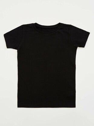 Black - Kids Underwear