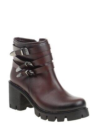 Maroon - Boots