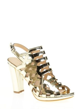 Gold - Evening Shoes