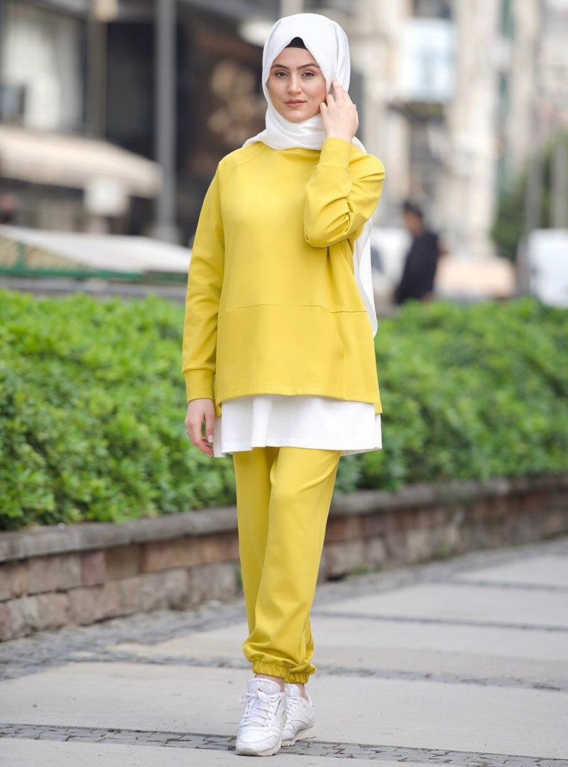Suit Nurgül Çakır Yellow