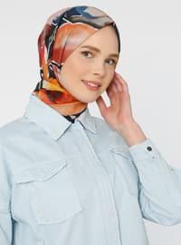 Multi - Printed - Cotton - - Shawl - Şal