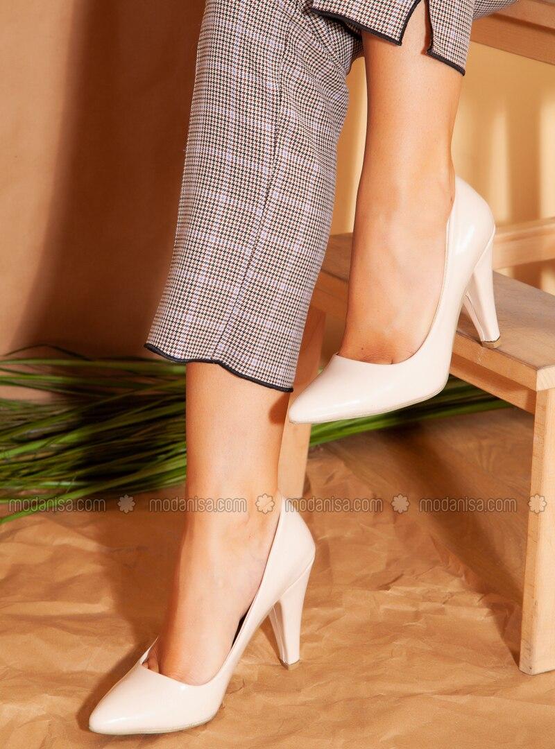 à Chaussures Beige Talons A talons KJ1TlFc3