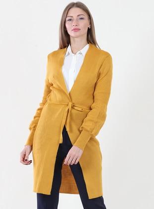 Yellow -  -  - Cardigan