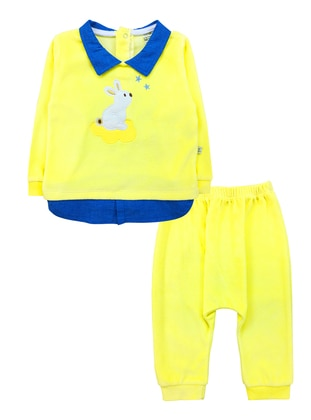 Point Collar -  - Yellow - Baby Suit