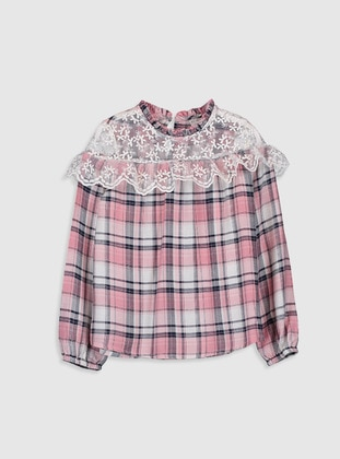 Pink - Girls` Blouse - LC WAIKIKI