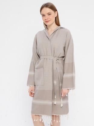 Brown -  - Morning Robe