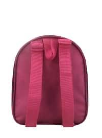 Pink - Black - Backpack - Backpacks