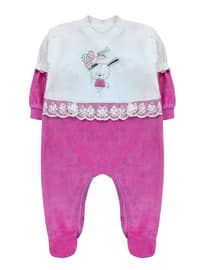 Crew neck -  - Pink - Overall