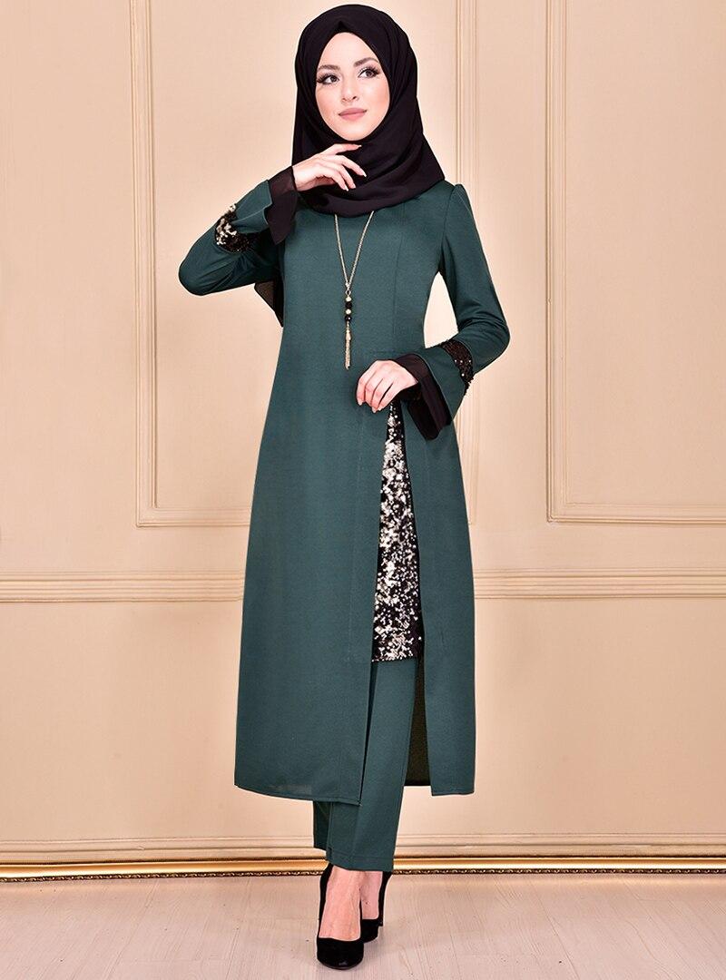 Evening Suit AYŞE MELEK TASARIM Emerald