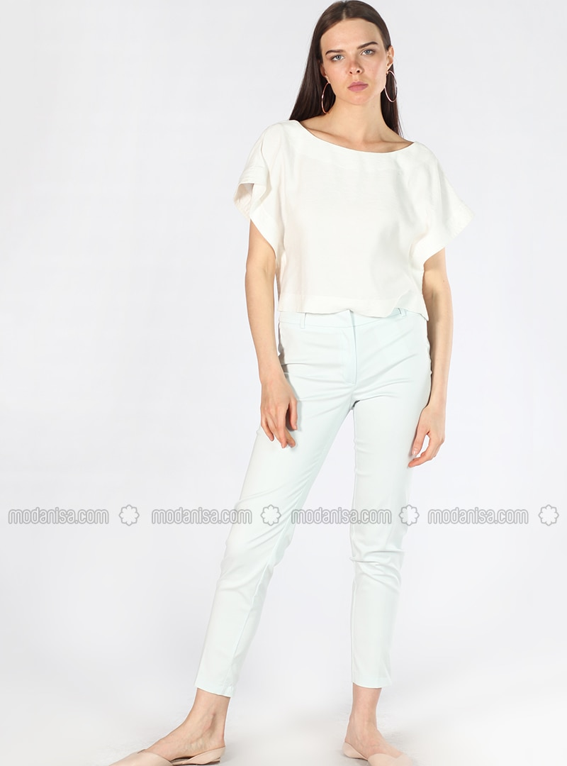 White -  - Pants