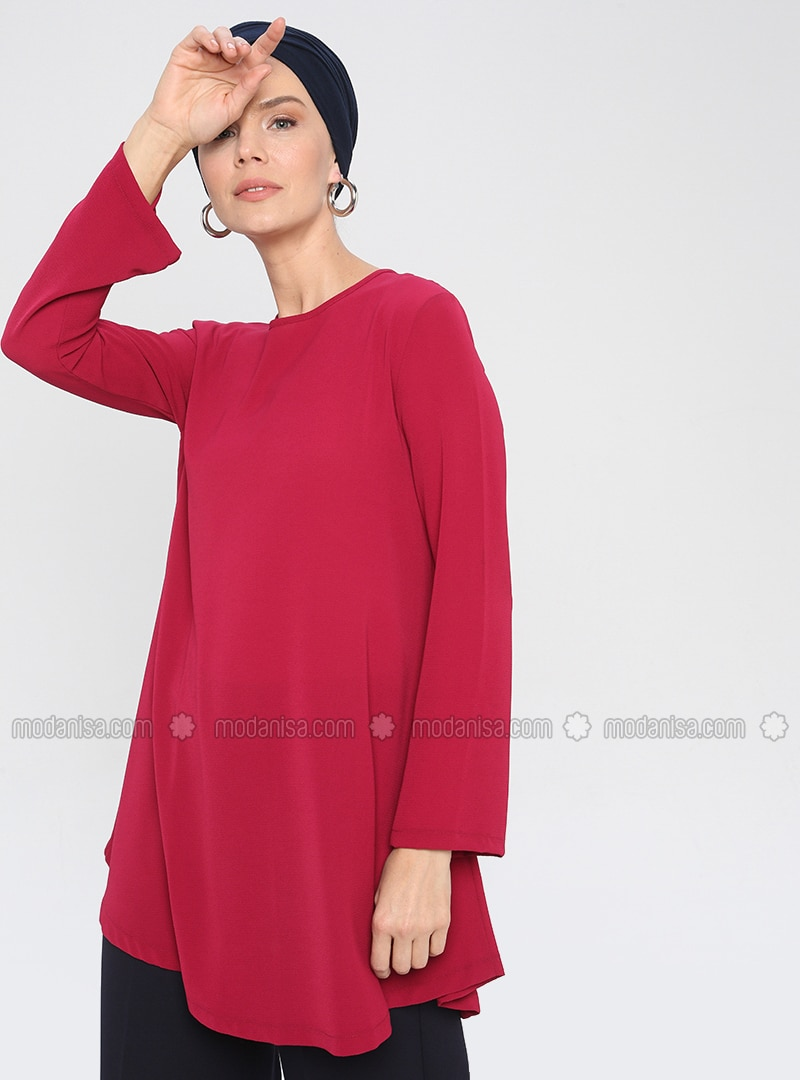 Cherry - Crew neck -  - Tunic