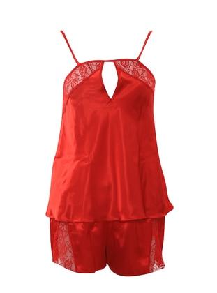 Red - Short Set