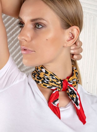 Multi - Leopard - Satin - Accessory