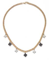Gold - Silver tone - Necklace