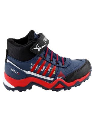 Navy Blue - Boys` Boots - Ayakland