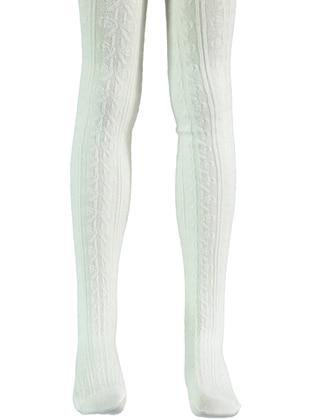 Ecru - Girls` Socks - Bella Calze