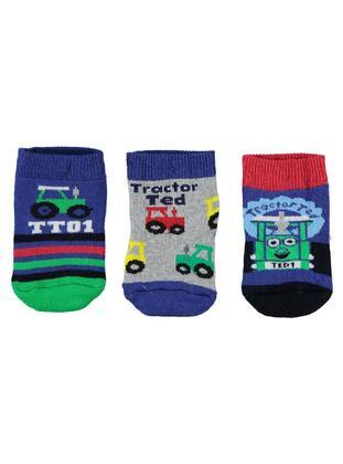 Blue - Socks -  Baby