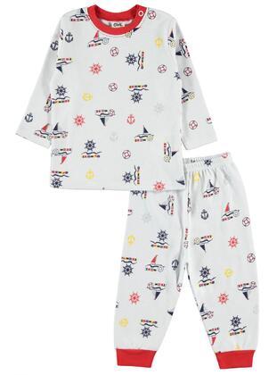 Red - Baby Pyjamas -  Baby