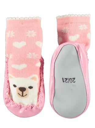 Pink - Girls` Socks -  Baby