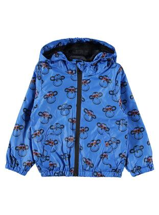 Blue - Boys` Raincoat -  Boys