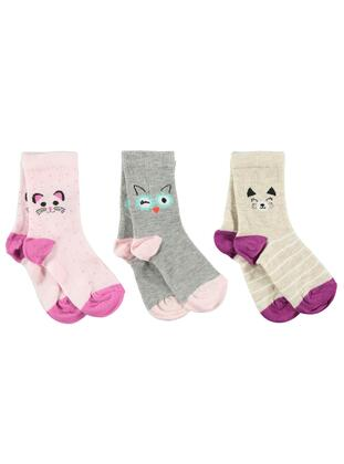 Pink - Girls` Socks - Civil Girls