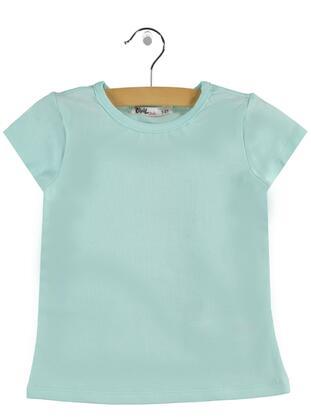 Green - Girls` T-Shirt -  Girls