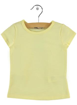 Yellow - Girls` T-Shirt - Girls