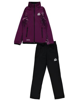 Purple - Girls` Tracksuit