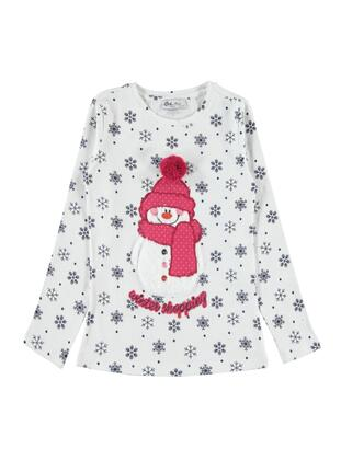 Ecru - Girls` Sweatshirt - cvl