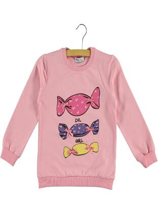 Pink - Girls` Sweatshirt - cvl