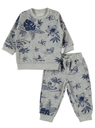 Gray - Baby Suit - Kujju