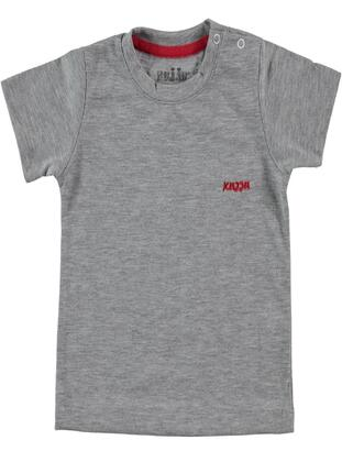 Gray - baby t-shirts - Kujju
