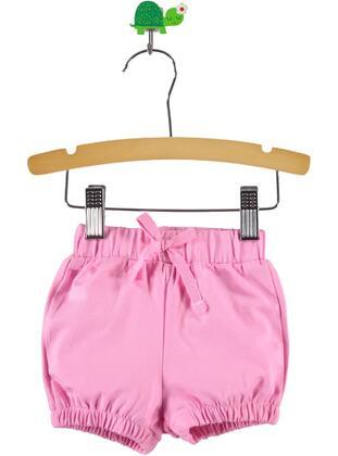 Pink - Baby Shorts - Kujju
