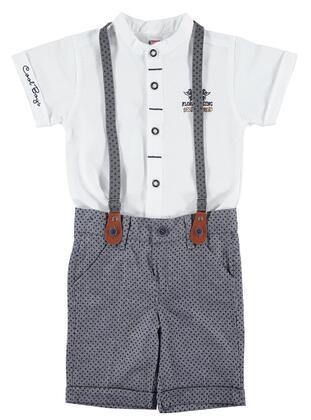 White - Boys` Suit