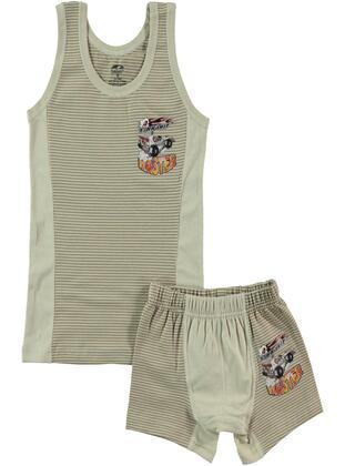 Brown - Kids Underwear - Şahin