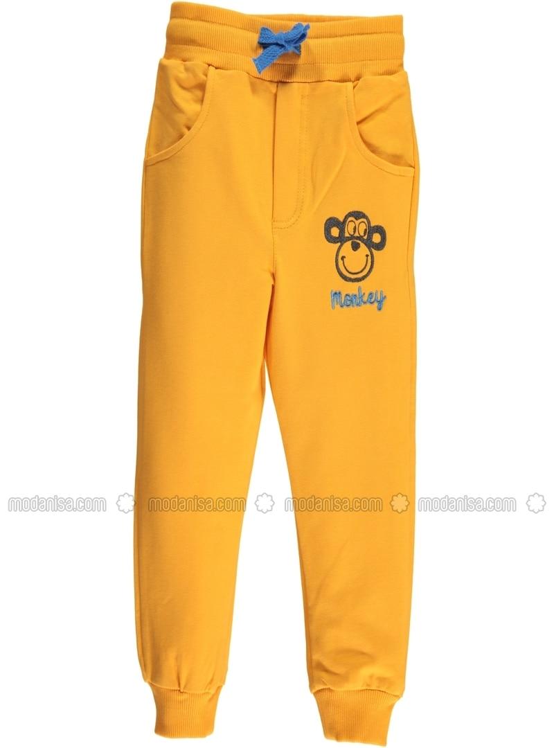Mustard - Boys` Sweatpants - cvl
