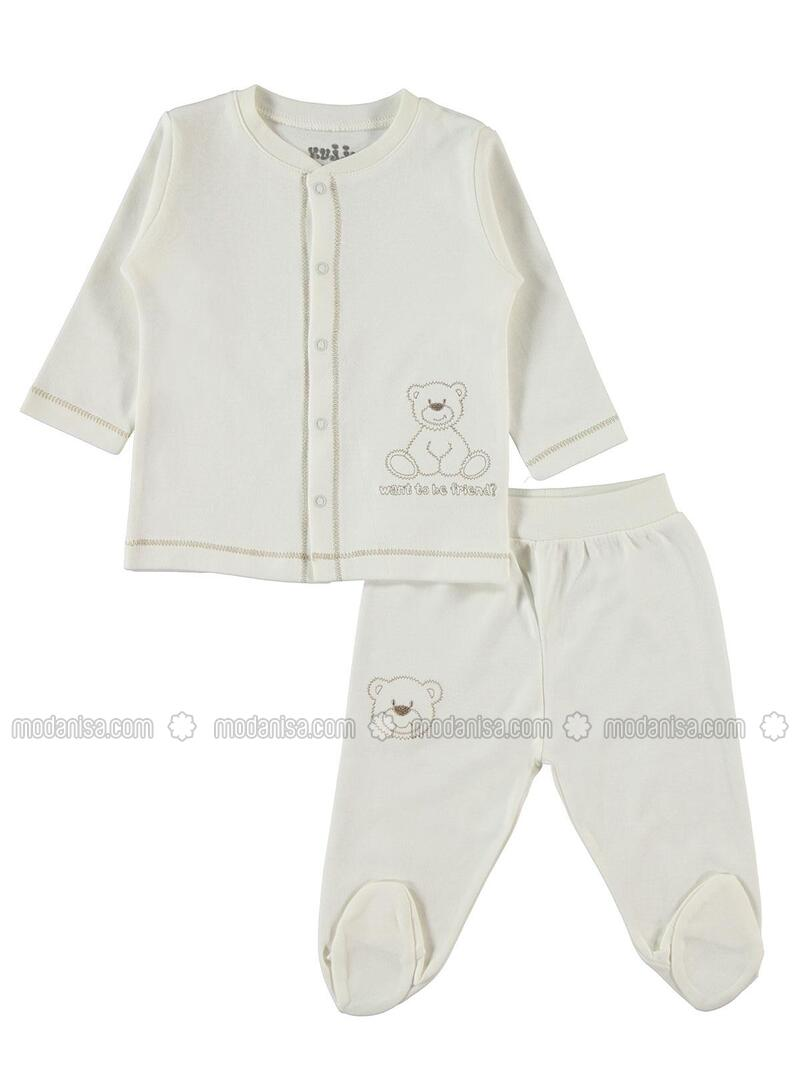 Ecru - Baby Suit - Kujju