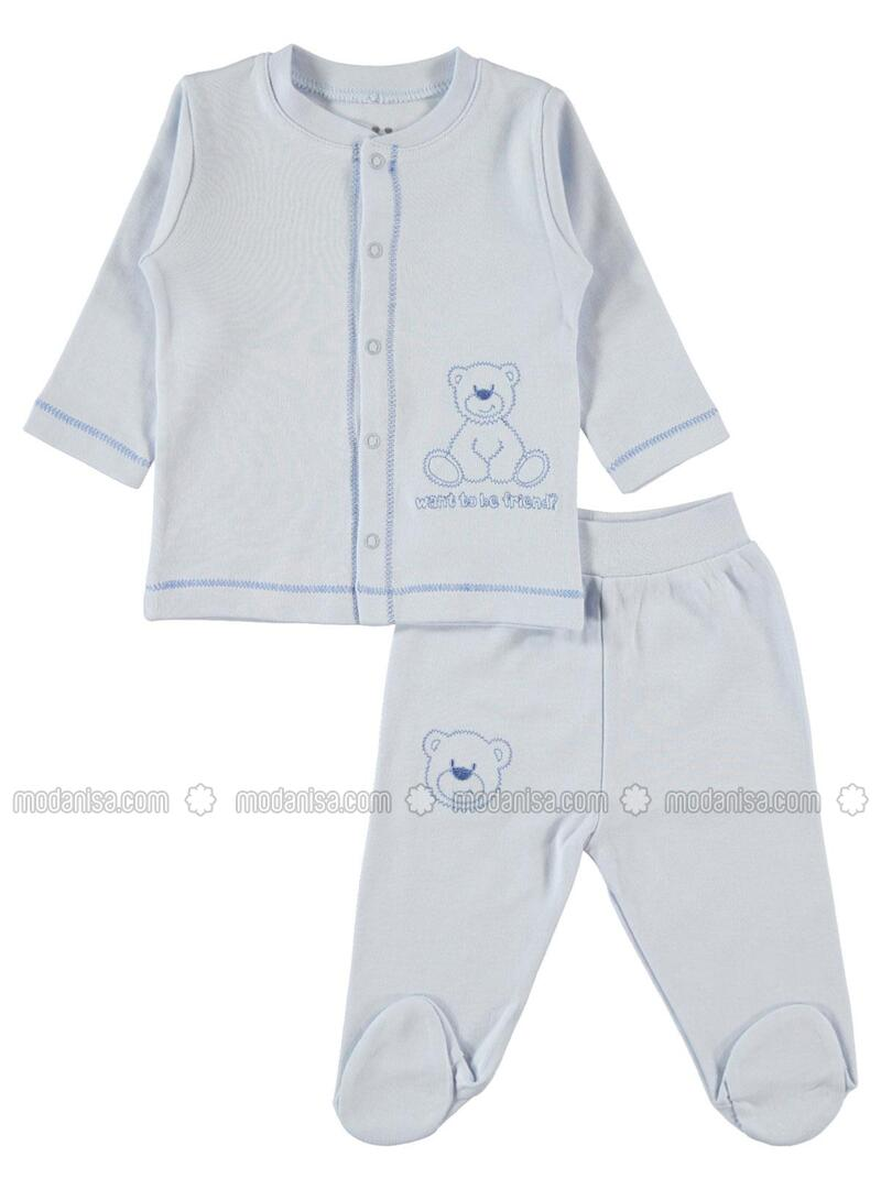 Blue - Baby Suit - Kujju