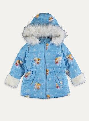 Blue - Girls` Coat
