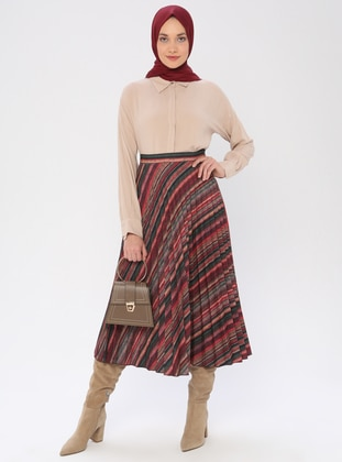 Coral - Unlined - Skirt