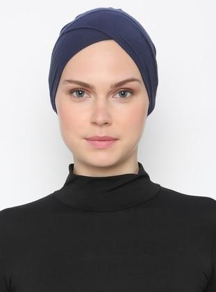 Navy Blue - Plain - Bonnet