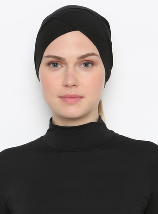 Black - Plain - Bonnet