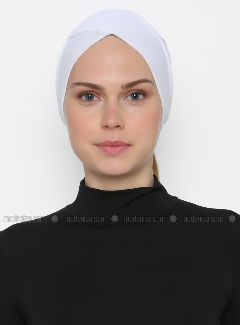White - Plain - Bonnet